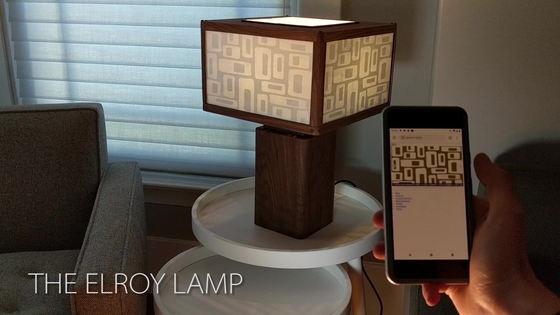 The Elroy Lamp: A transparent LCD lamp | Kyle's Make Blog